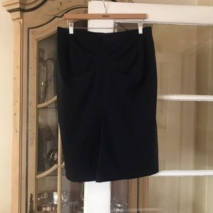 BCBGMaxazria black pencil skirt size 10